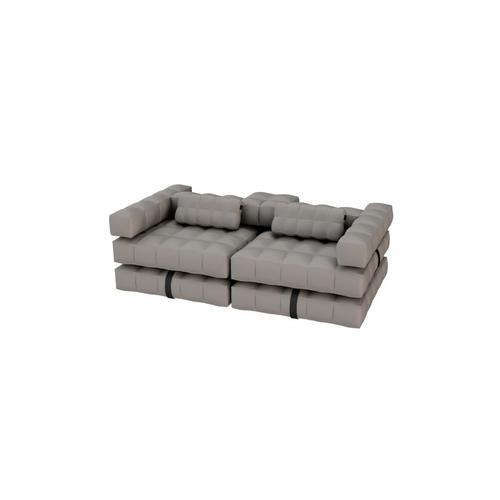 Sofa / Double Lounger Set | Stone Grey | Pigro Felice