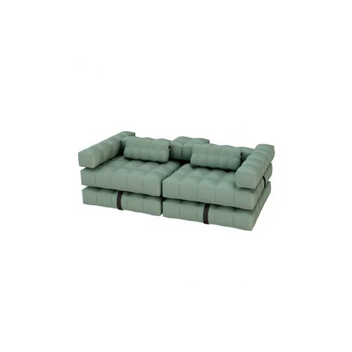 Sofa Set | Olive Green