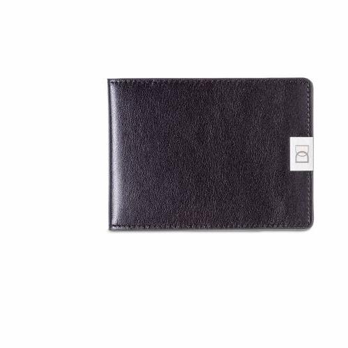 Dun wallets black silver dun wallets for Yamaha leather wallet