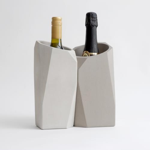 Champagne Cooler | Mineral/Graphite