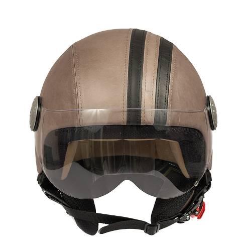 Leather Helmet   Vintage Band