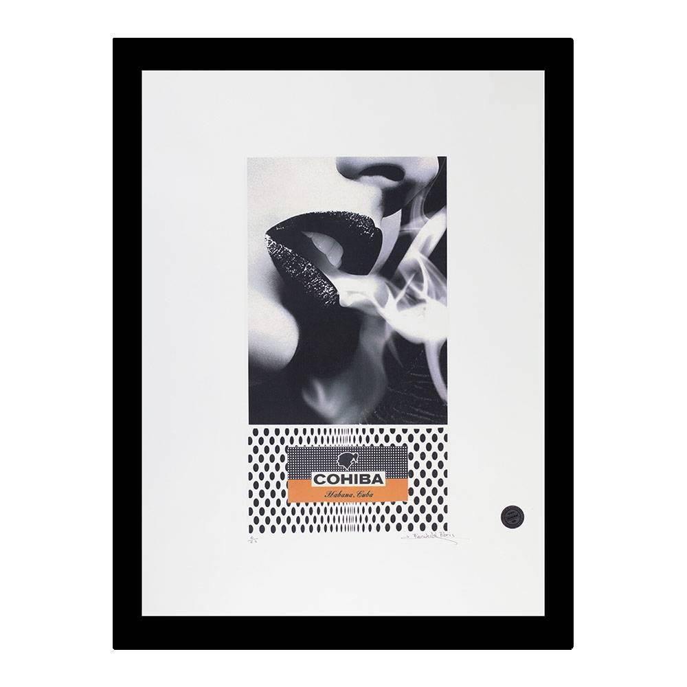 785-CCP00134   Smoky Lips   Cohiba Signed Art