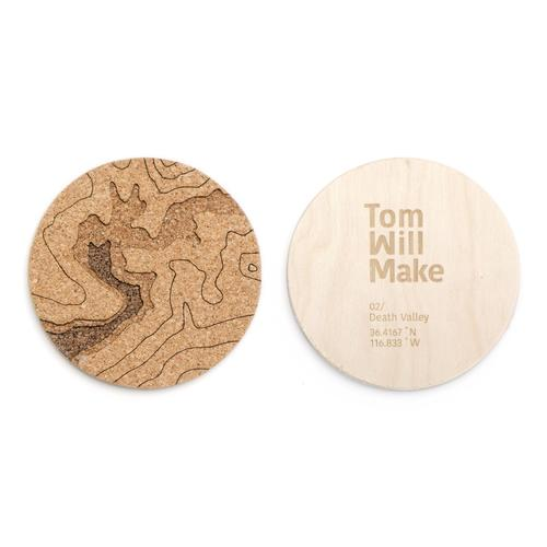 Topo Coasters | Set of 4 | Death Valley