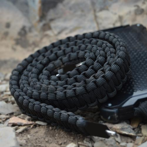 Paracord Charging Cable | Black | Dark Energy