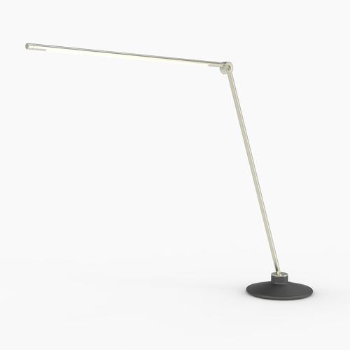 Thin T Desk Lamp   Silver