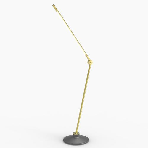 Thin S Desk Lamp | Brass