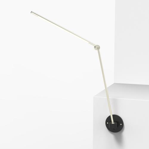 Thin S Desk Lamp   Silver   Juniper Design
