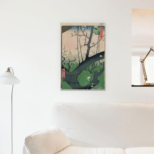 Kameido Umeyashiki (Plum Estate, Kameido) | Canvas Print