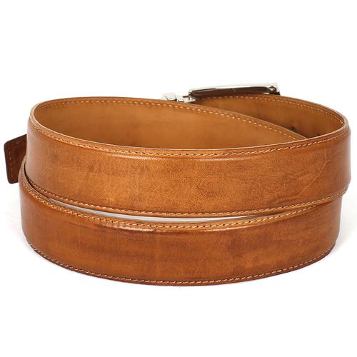 Men's Leather Belt   Tobacco