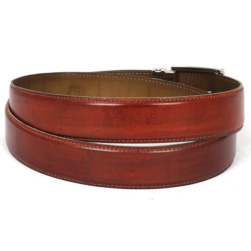 Men's Leather Belt | Reddish Brown