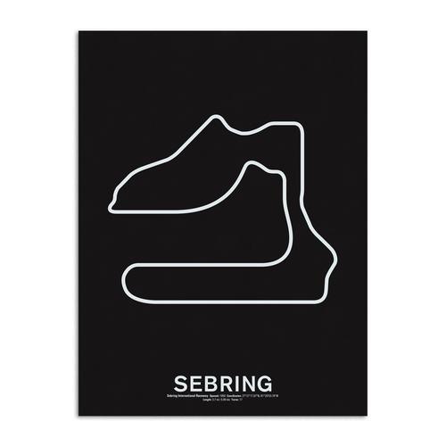 Laguna Seca Raceway Race Track Prints