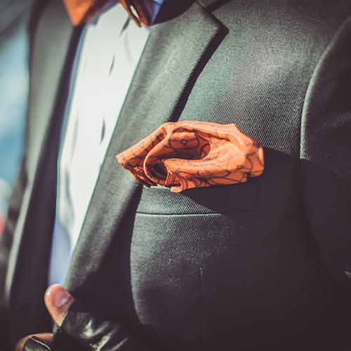The World Beater | Silk Pocket Square | The OutlierMan