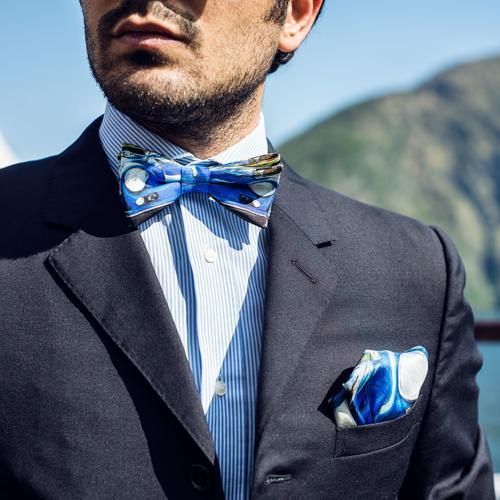 The Portrait | 356s Portrait | Silk Bow Tie | The OutlierMan