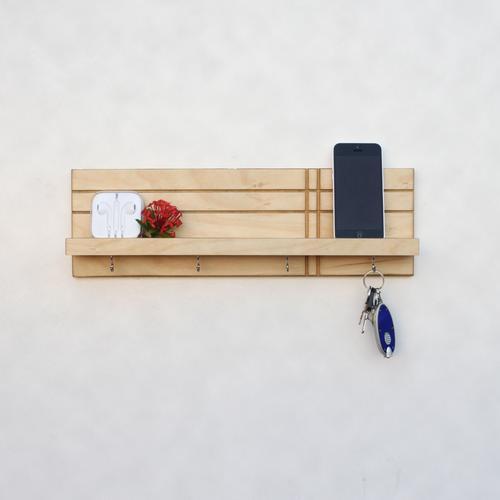 Key Holder / Jewelry Organizer   Geo   Wood Butcher Designs