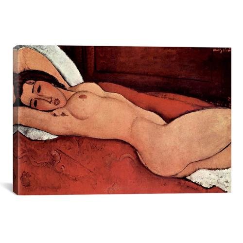 Reclining Nude by Amedeo Modigliani Canvas Print