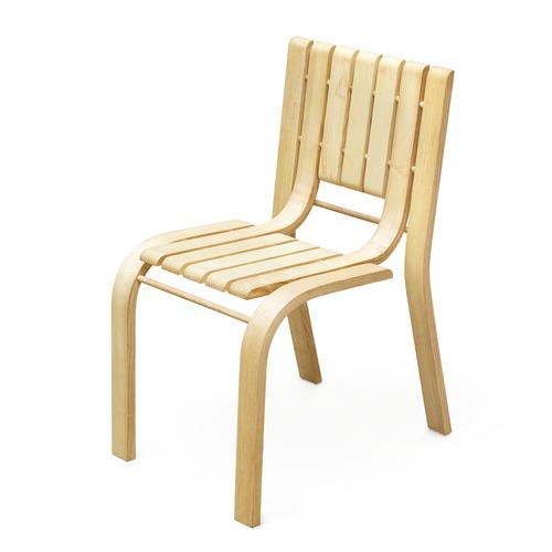 Unit Chair | Natural American Ash