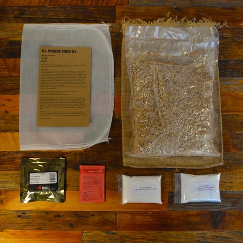 Beer Brewing Recipe Pack | Amber Ale | Box Brew Kits