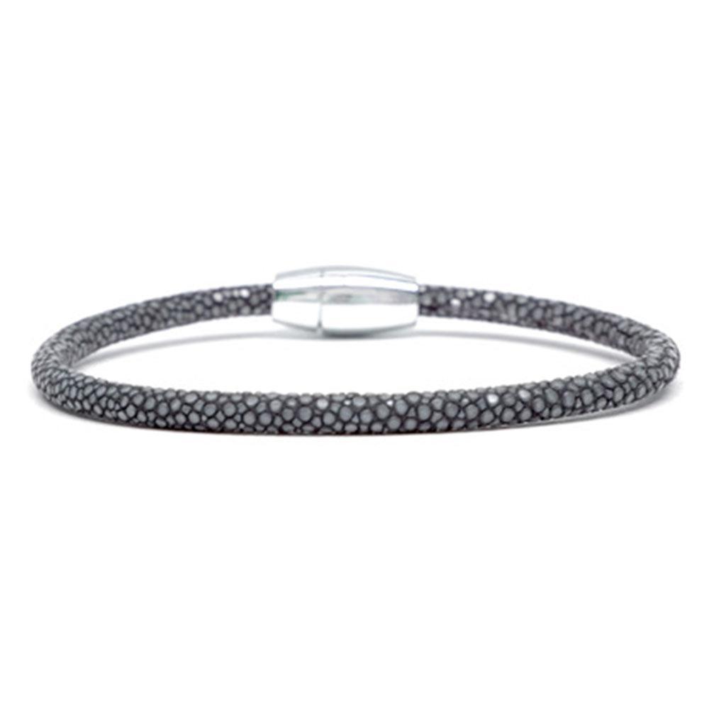 Single Stingray Bracelet   Gray   Double Bone