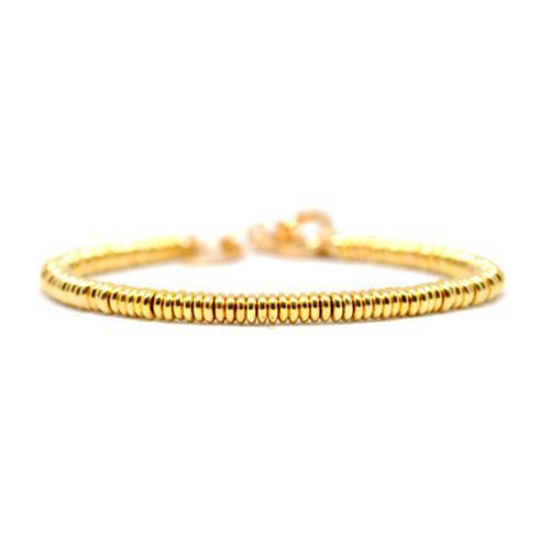 Bracelet | Single Beads | Yellow Gold