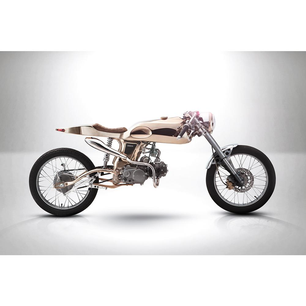 Eden Gold | Honda Supersport 125cc | Bandit9 Motorcycles