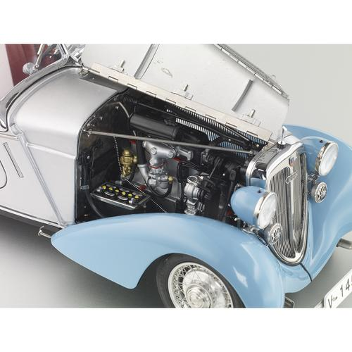 Audi 225 Front Roadster   1935   Blue/Silver   CMC