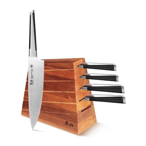 X Series | 6-Piece Set | Acacia Wood Block