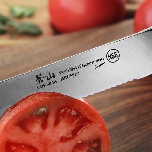 N1 Series 5-Inch Serrated Utility Knife | Cangshan
