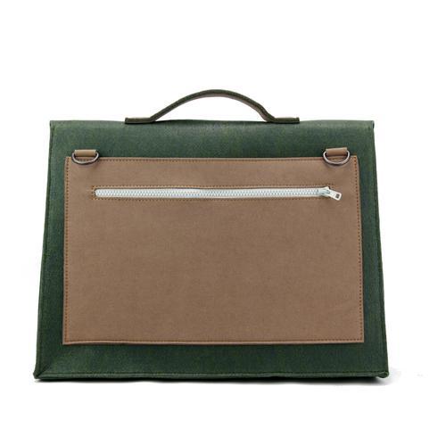 Mateo Felt Briefcase | Bold, Modern, Versatile | MRKT Bags