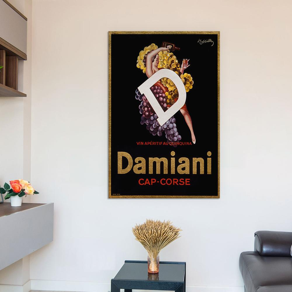 Damiani Cap Corse - Vintage Ad Poster by Unknown Artist