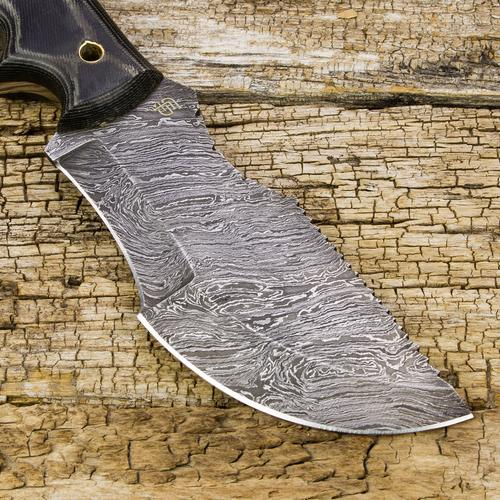 Ironside Damascus Tracker | ForsetiKnives