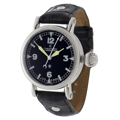 Chronoswiss Timemaster Manual Wind Stainless Steel Men's Watch