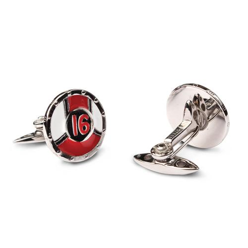 Racing Livery Number 16 Cufflinks