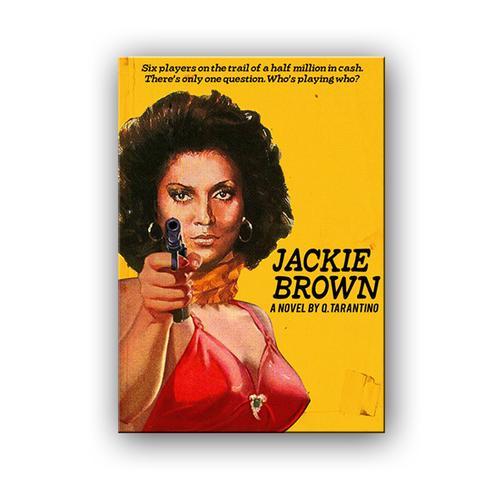Jackie Brown (Retro Poster)