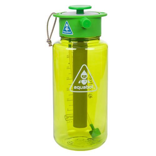 Aquabot Hydration Spray Water Bottle | Green