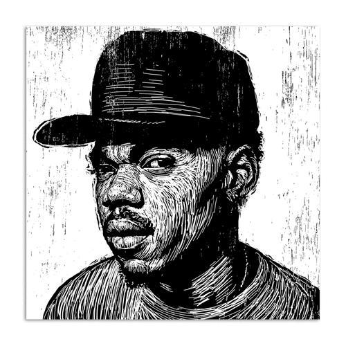 KC Chance The Rapper | Canvas