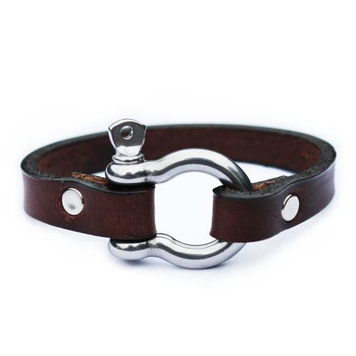 The Shackleton Bracelet | Dark Brown