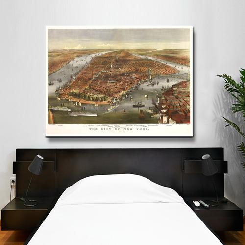 The City of New York | Canvas