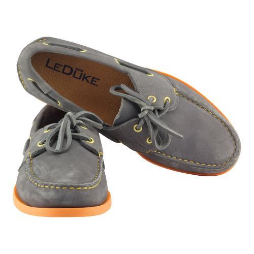 Boat Shoes | Nubuck and Orange