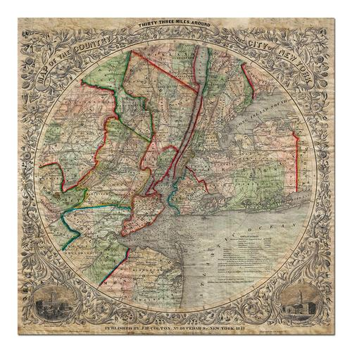 New York-1848 | Paper