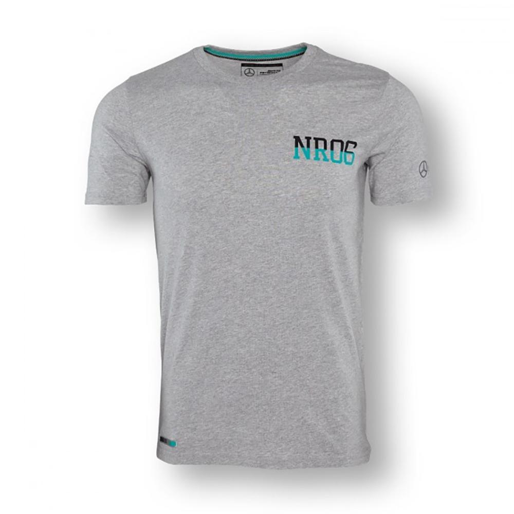 Mercedes Amg Petronas Nico 06 T-Shirt Mens | Grey