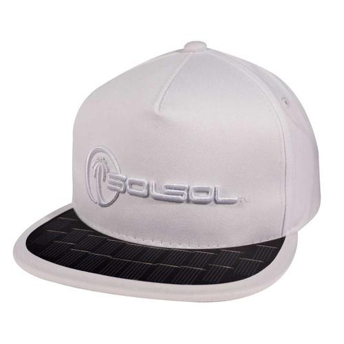 The Solar Charger Hat | White
