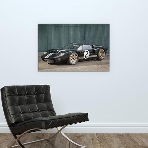 Ford Gt40 Le Mans Race Car, 1966