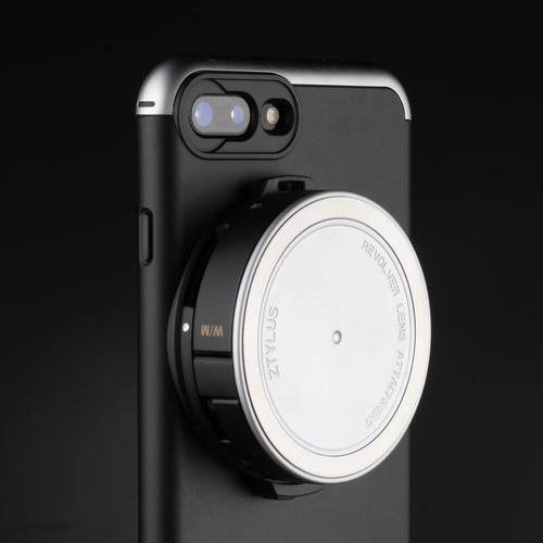 Revolver Lens Camera Kit for iPhone 7 Plus | Silver| Ztylus