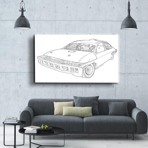 Stock car  I | Canvas