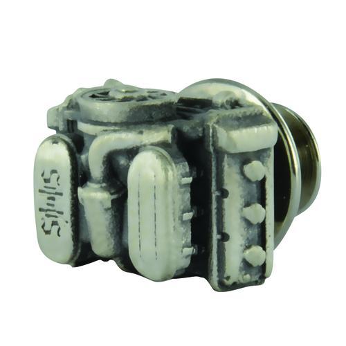 Lapel Button Flat Six Vintage