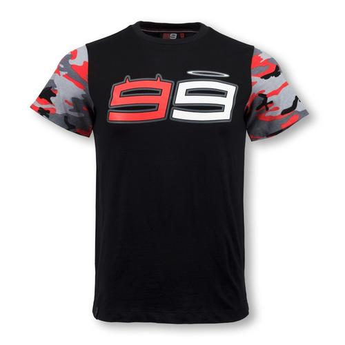 Jorge Lorenzo Camo Sleeves T-shirt | Moto GP Apparel