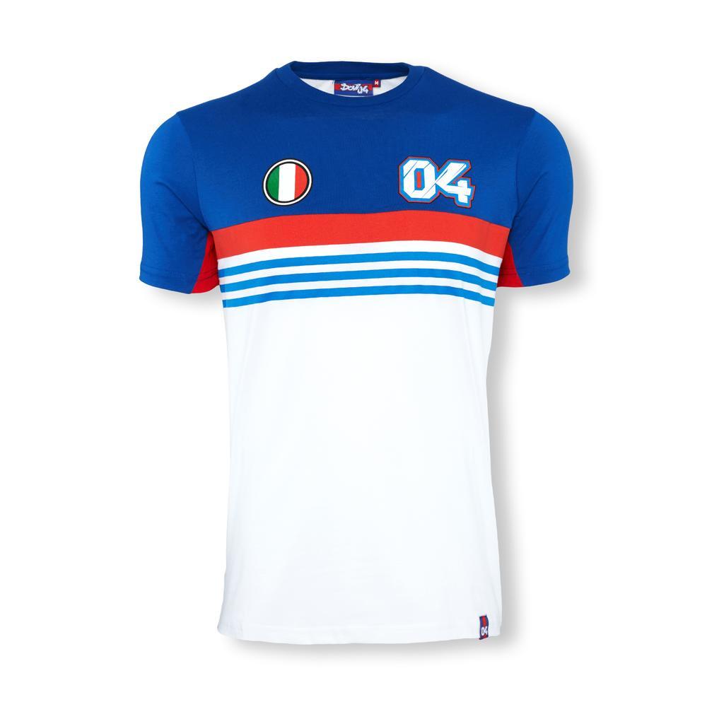 Andrea Dovizioso 2016 04 Striped T-Shirt   Moto GP