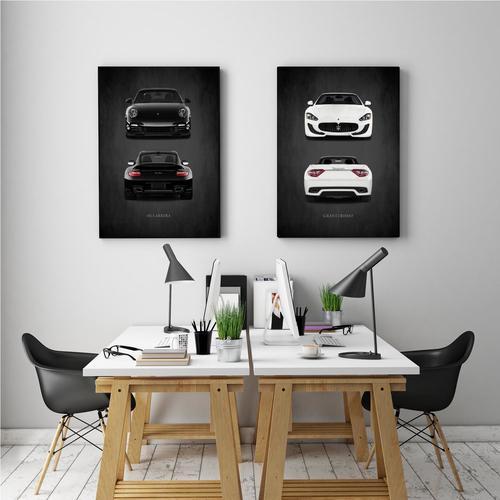 911 Carrera II   Canvas
