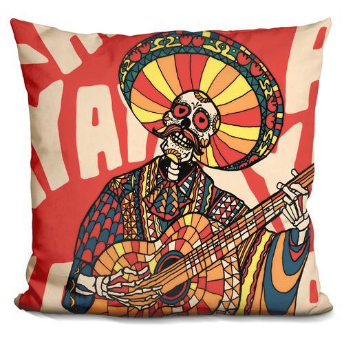 'Mariachi' Throw Pillow