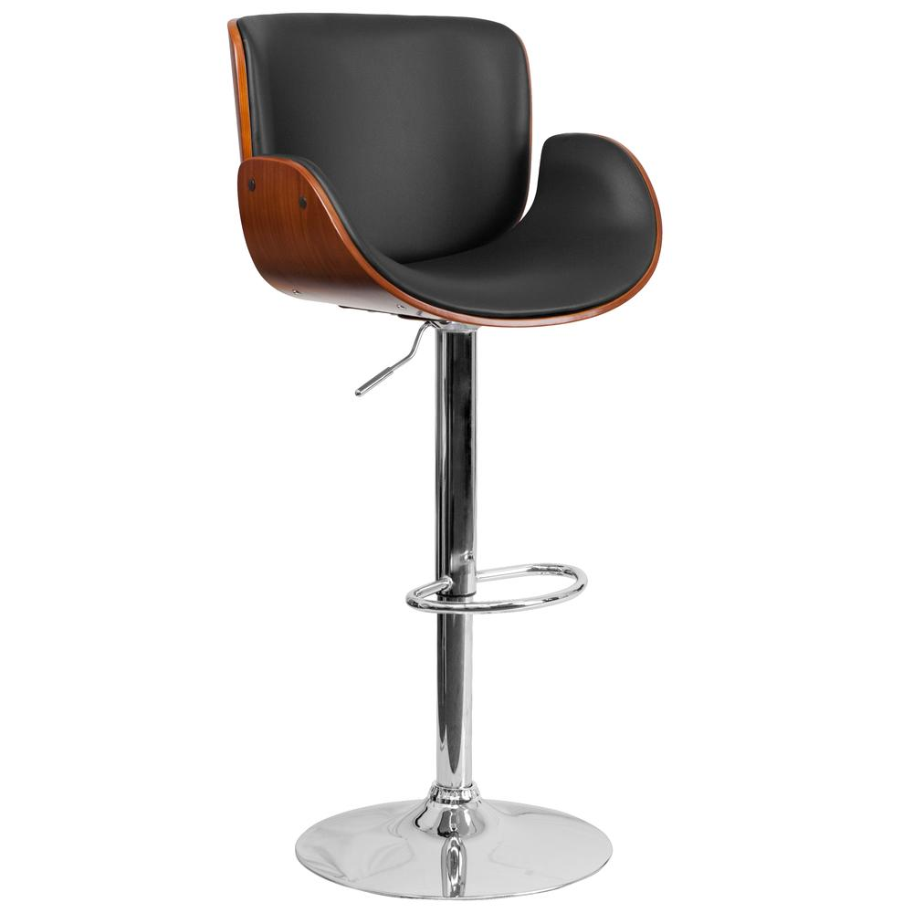Height Barstool with Curved Black Vinyl Seat Flash Furnitur : heightbarstoolwithcurvedblackvinylseat100013 from www.modernlook.com size 1000 x 1000 jpeg 30kB